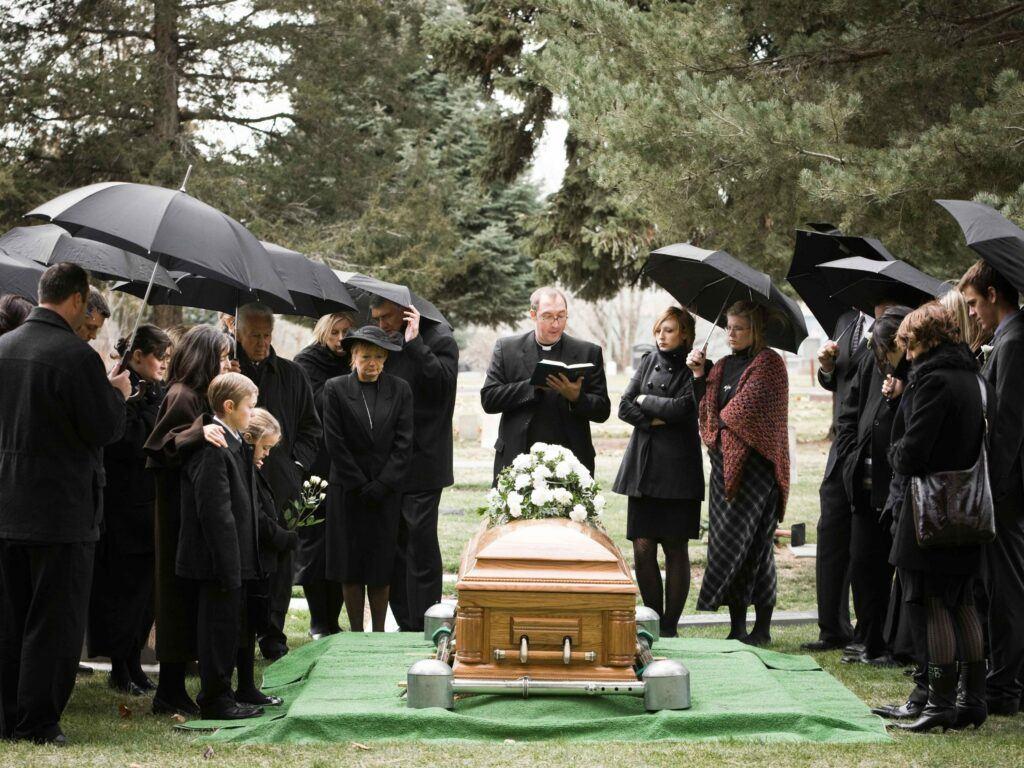 funeral is graduation