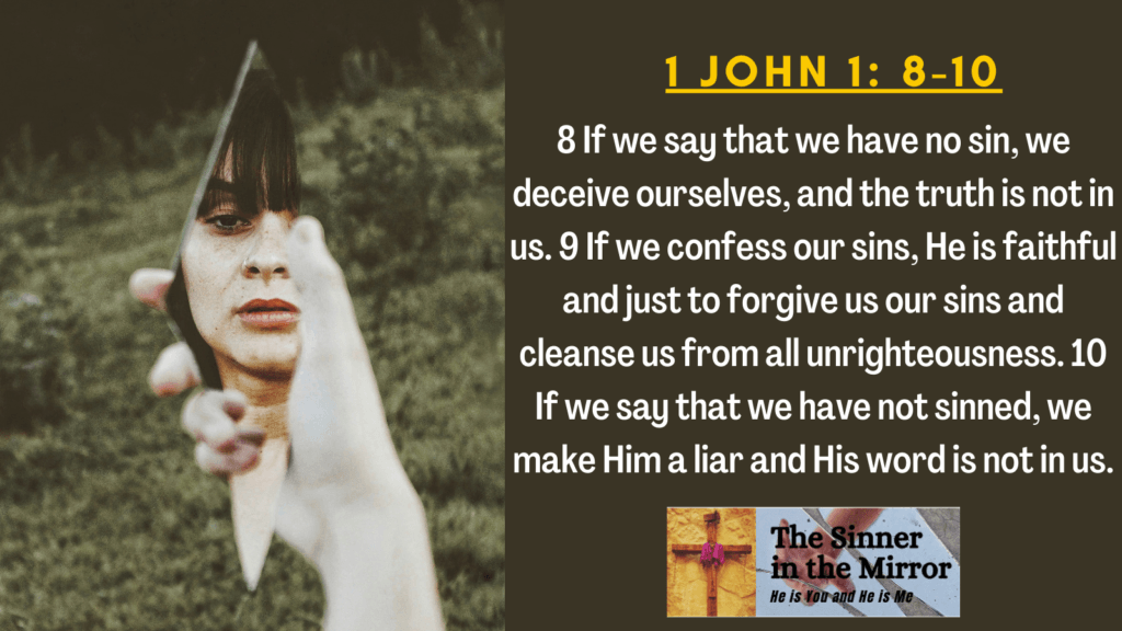 if we say we don't sin
