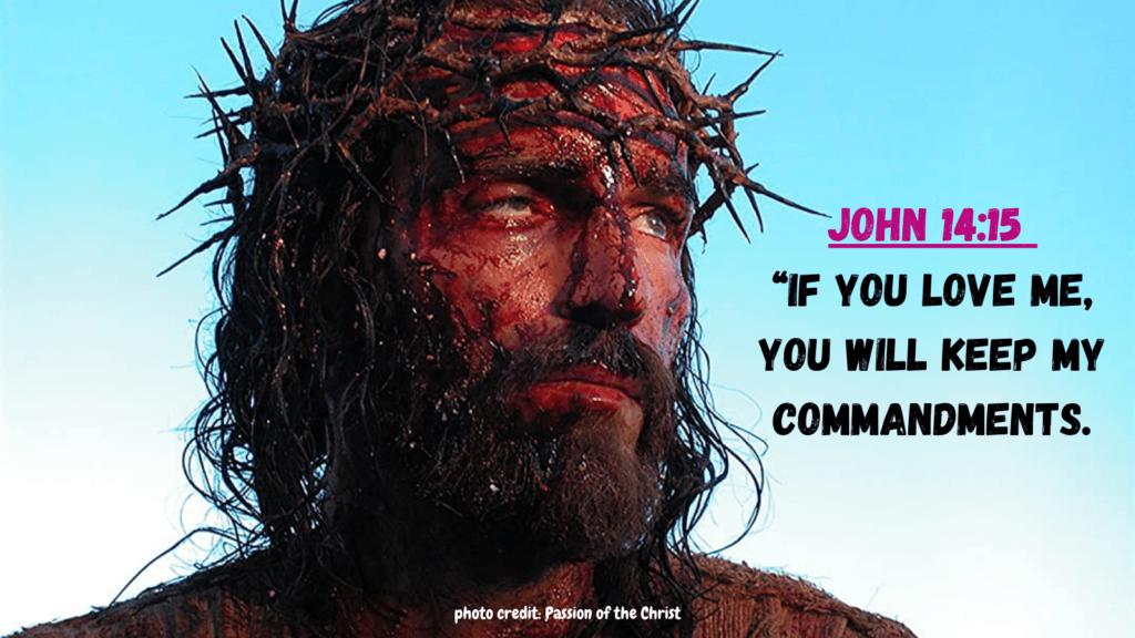 jesus commandments