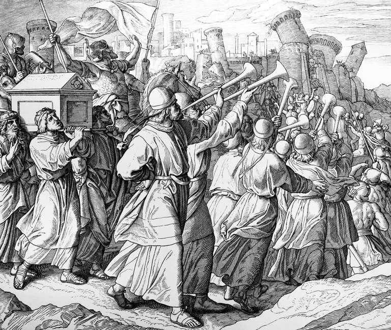 Joshua and the battle of Jerricho