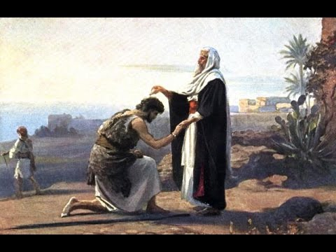 In the promised land - the annointing of Saul king of Israel