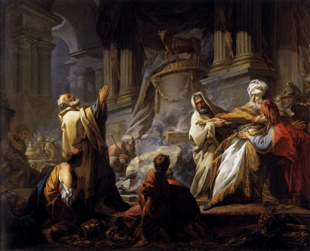 Jeroboam Son of Nebat and his golden calf