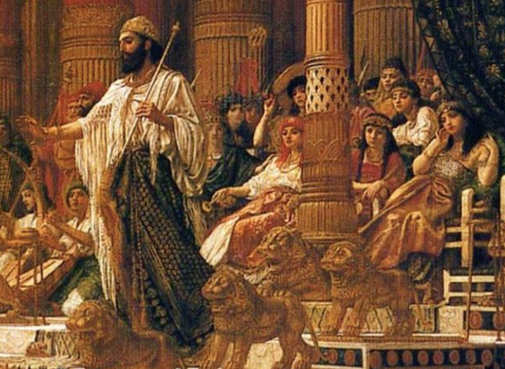 King Solomon and his many wives