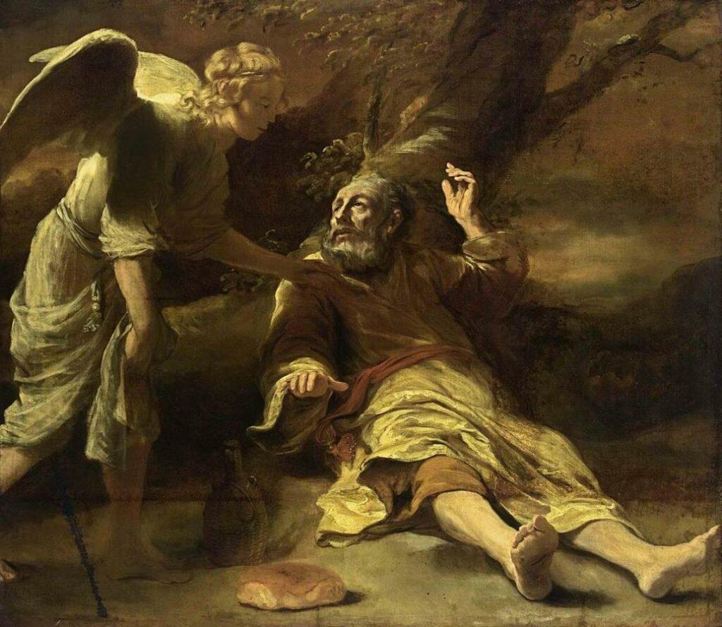 Elijah fed by an Angel