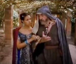 Mordecai tells Esther of Haman's plan to kill the Jews